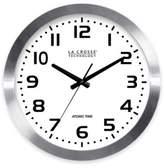 La Crosse Technology La Crosse 16-Inch Atomic Metal Wall Clock