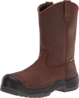 Rocky Men's Worksmart Composite Toe Internal Met Guard Work Boot Mid Calf