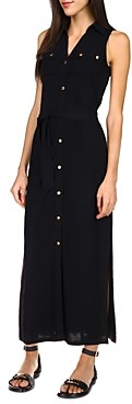MICHAEL Michael Kors Maxi Shirt Dress