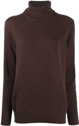 Dolce & Gabbana Drop-Shoulder Roll-Neck Jumper