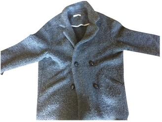 Gat Rimon Anthracite Wool Coats