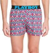 Playboy Men's Aztec Boxer Shorts - Multicoloured -