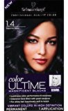 Schwarzkopf Ultime Hair Color Cream, 1.4 Sapphire Black, 2.03 Ounce
