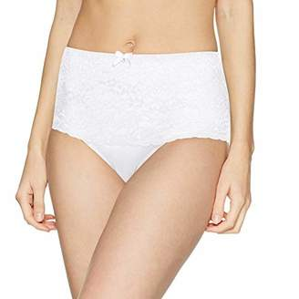 Pour Moi? Women's Eden High Waist Brief White, (Size:)