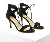 Forever 21 FOREVER 21+ Ankle-Strap Faux Suede Pumps