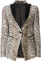 Tagliatore leopard pattern blazer
