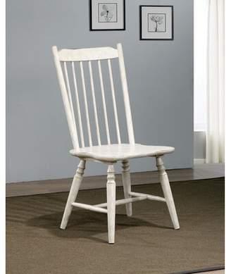 Gracie Oaks Rensselear Solid Wood Dining Chair Gracie Oaks
