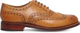 Grenson Stanley wingtip leather Oxford shoes