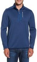 Vineyard Vines Men's Grid Fleece Quarter Zip Pullover