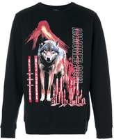 Marcelo Burlon County of Milan wolf printed sweatshirt