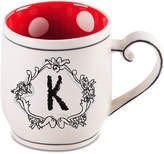 "Home Essentials Monogram ""K"" Mug"