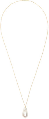 Timeless Pearly NECKLACE WITH PEARL OS White, Gold