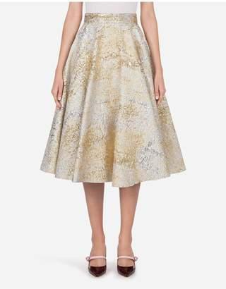 Dolce & Gabbana Circle Midi Skirt