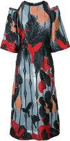 Yigal Azrouel hummingbird shift dress - women - Polyester/Viscose - 2
