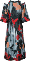 Yigal Azrouel hummingbird shift dress - women - Polyester/Viscose - 8
