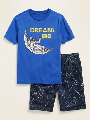 Old Navy Graphic Pajama Tee & Pajama Shorts Set for Boys