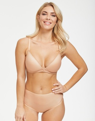 Figleaves Smoothing Non-Wired Plunge Bra A-H