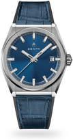 Zenith Defy Classic Blue Strap Mens Watch