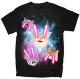 JCPenney NOVELTY PROMOTIONAL Laser Cats Graphic Tee