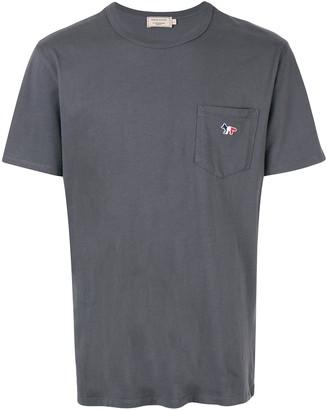 MAISON KITSUNÉ logo-appliquéd T-shirt
