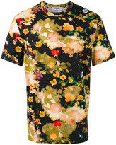 MSGM floral print T-shirt - men - Cotton - M