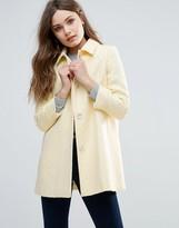 Helene Berman Wool Blend Topper Coat