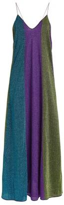 Oseree Lumiere Stripe Maxi Dress
