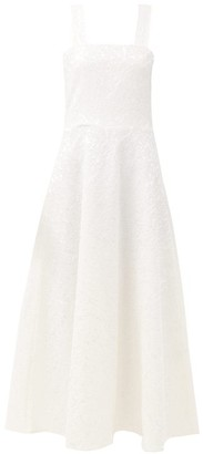 Gioia Bini Lucinda Chantilly-lace Maxi Dress - White
