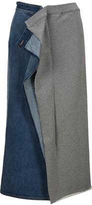 MM6 MAISON MARGIELA Hybrid Midi Skirt