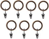 Umbra Duo Duala Espresso Clip Rings (Set of 7)