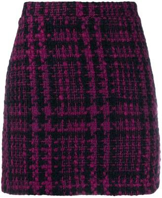 Andamane Bertha tweed mini skirt