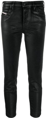 Diesel Babhila cropped skinny jeans