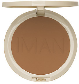 Iman Perfect Response Oil Blotting Pressed Powder, Medium