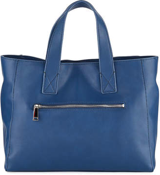 French Connection Jayden Faux-Leather Satchel Tote Bag