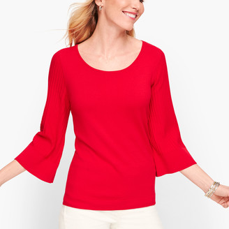 Talbots Flared Sleeve Sweater