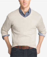 Izod Men's Big and Tall V-Neck Sweater
