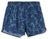 Stella McCartney blue camo print coralle shorts