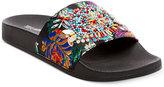 Steve Madden Women's Starship Embellished Pool Slide Sandals