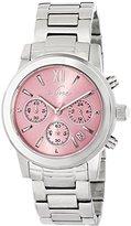A Line a_line Women's AL-80597-105 Sophi Chic Analog Display Japanese Quartz Silver Watch