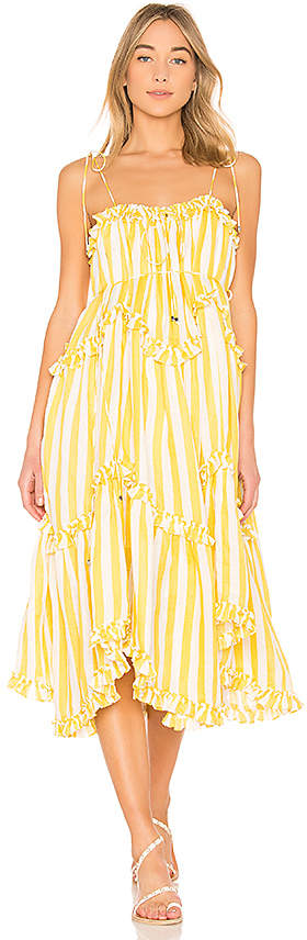 Zimmermann Lumino Floating Stripe Dress