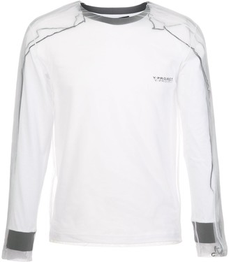 Y/Project Sheer Layered Sweatshirt