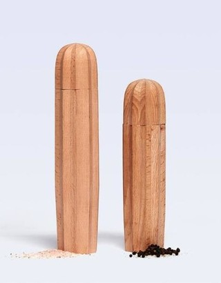 DOIY Design - Wooden Cacti Salt Pepper Grinders