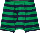 Hanna Andersson Tall Green Grass Stripe Organic Cotton Boxer Briefs