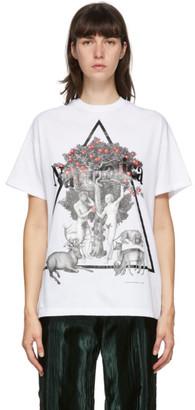 Christopher Kane White Naturotica T-Shirt
