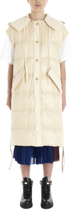 MONCLER GENIUS camellias Vest