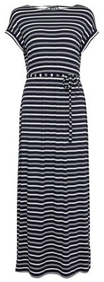 Dorothy Perkins Womens Dp Petite Multi Colour Stripe Print Jersey Maxi Dress