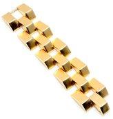 Ben-Amun Gold Metal Pyramid Bracelet