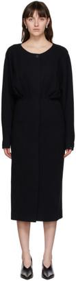 LE 17 SEPTEMBRE LE17SEPTEMBRE Navy Waist Shirring Dress
