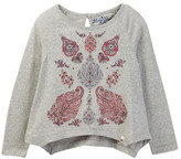Lucky Brand Paisley Graphic Tee (Little Girls)