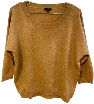 Theory Camel Cashmere Knitwear for Women